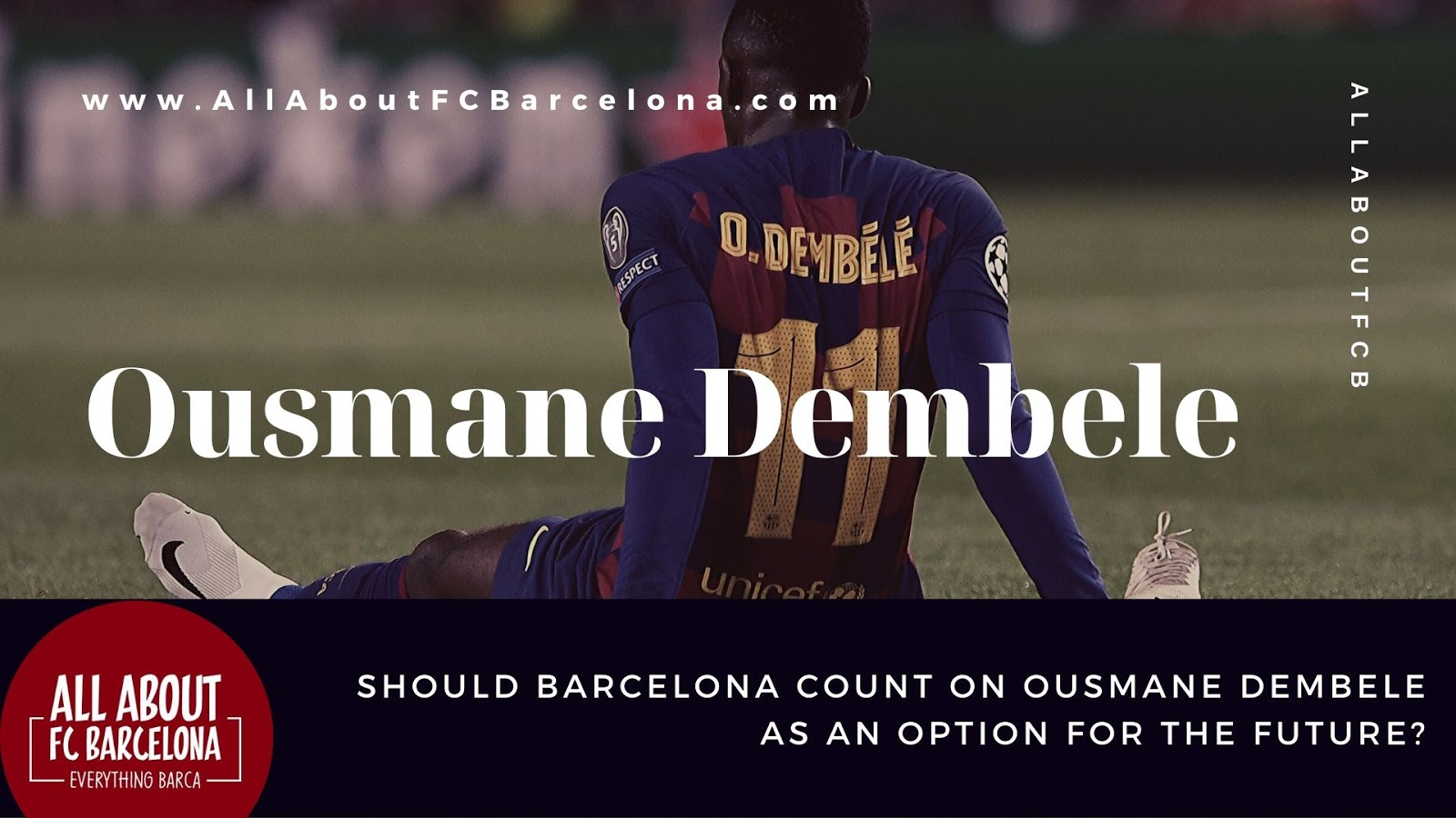 Should Barcelona Really Give Up on Ousmane Demebele as a Credible Option? #Barca #FCBarcelona
