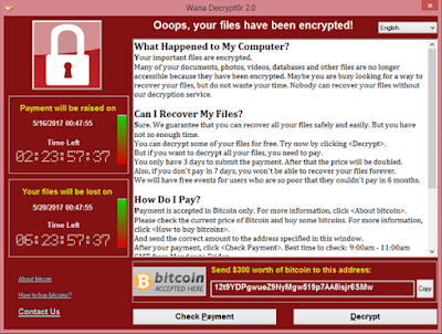 How to protect yourself from the the malware, WannaCry (aka WannaCrypt, WanaCrypt0r 2.0, Wanna Decryptor)