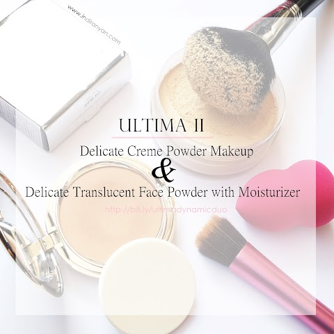 [REVIEW] ULTIMA II : Delicate Creme Powder Makeup & Delicate Translucent Face Powder with Moisturizer*