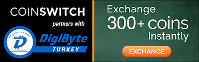 CoinSwitch DigiByte Exchange
