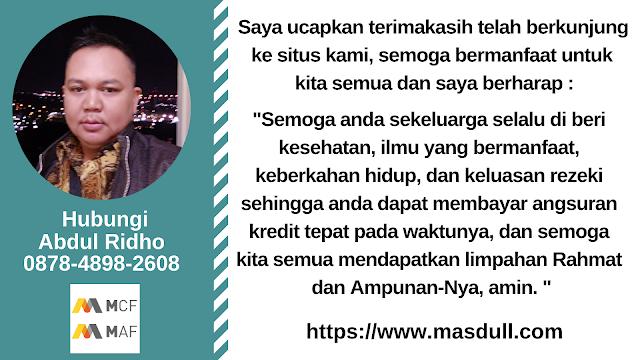 https://www.masdull.com - mcf gadai bpkb motor - layanan kredit online