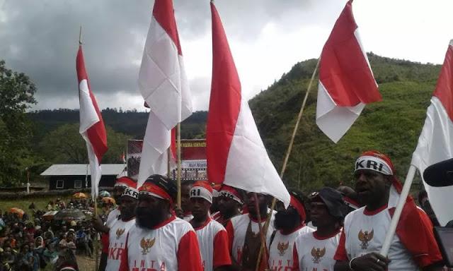 Lagi, Ratusan Anggota OPM Puncak Jaya Ikrarkan Diri Kembali ke NKRI