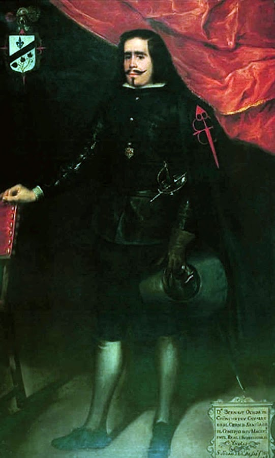 Retrato de don Bernabé Ochoa de Chinchetru, Juan de Alfaro y Gámez, Maestros españoles del retrato, Pintores españoles, Pintor español