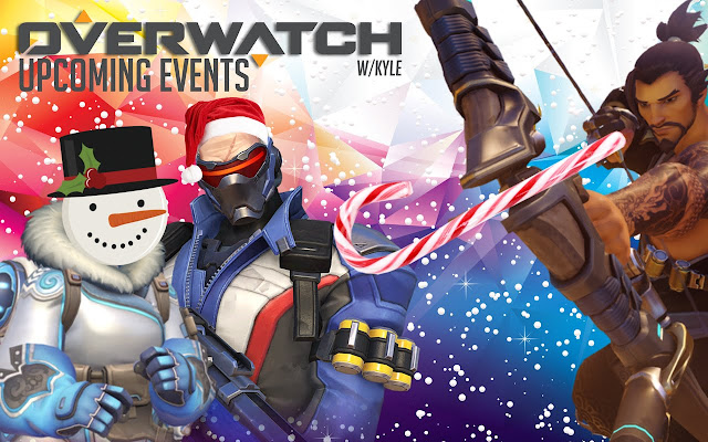 overwatch%2Bxmas%2Bevent Overwatch Christmas Event and New Mode Leaked, Symmetra's New Shield Broken Android