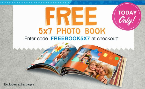 Free 5x7 Photo Book @ Walgreens 8/9