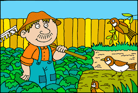 Kisah Petani Baik Hati yang  Bahagia