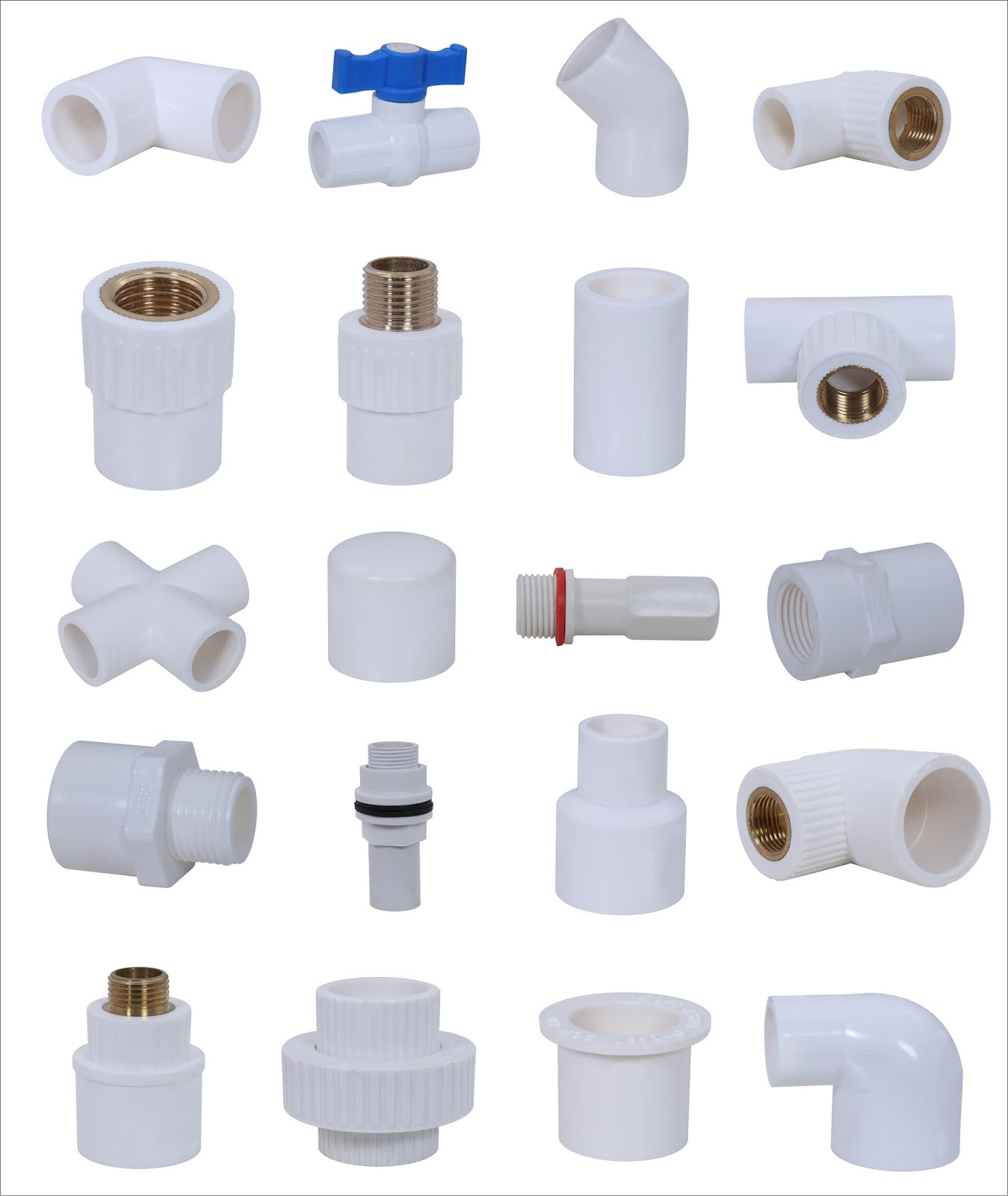 Ashok Plastic: UPVC Pipe Fittings Application and Categories