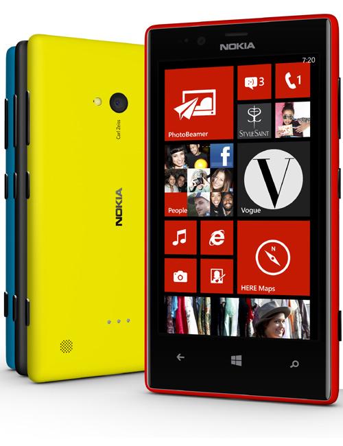 Nokia Lumia 720 Pictures