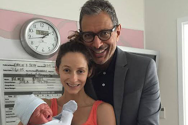 62-year-old Jeff Goldblum became a father for the first time