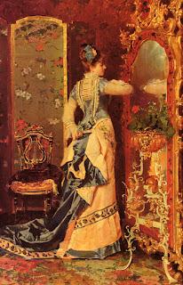 Луис Альварес Катала Luis Walter Alvarez Женщина у зеркала