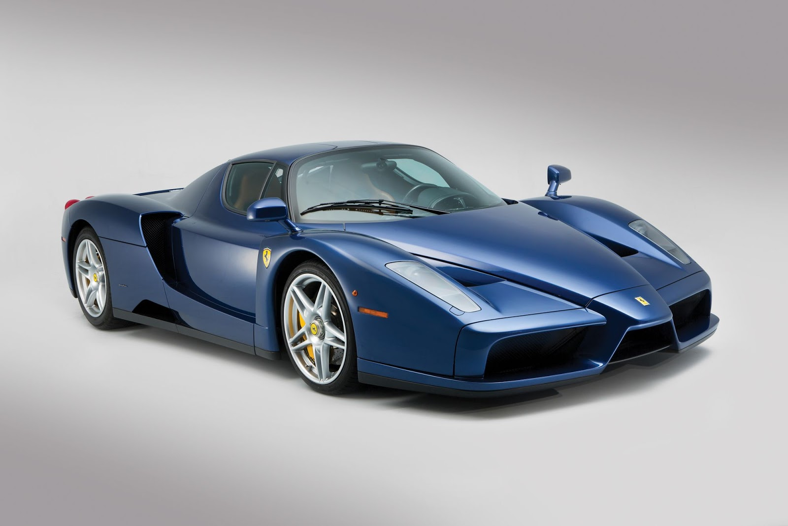rare blu tour de france ferrari enzo bound for auction carscoops. Black Bedroom Furniture Sets. Home Design Ideas