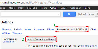 Forward Gmail Email to Another Email Account