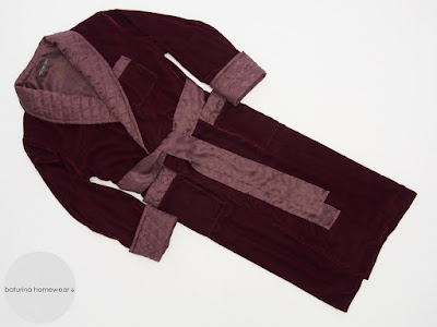 Mens burgundy velvet lounge robe red luxury gentleman dressing gown quilted shawl collar long man housecoat silk lined.