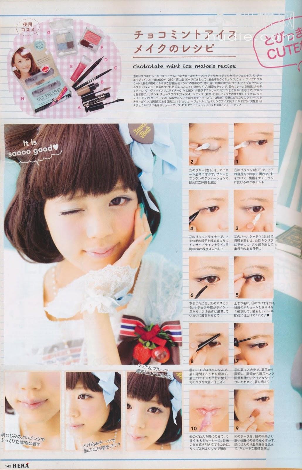 Jamichigo: Japanese Sweets Makeup Tutorial