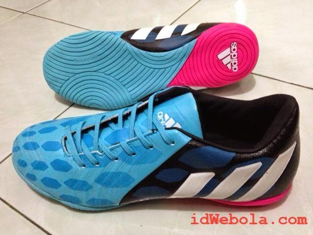 Sepatu Futsal Adidas Instink Predator Biru
