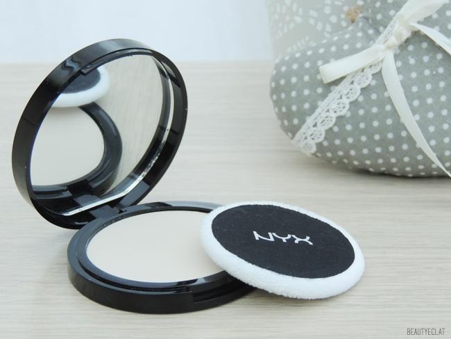 revue avis test poudre matifiante blotting powder nyx