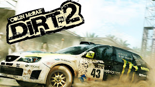 Colin McRae: DiRT 2 Logo Background