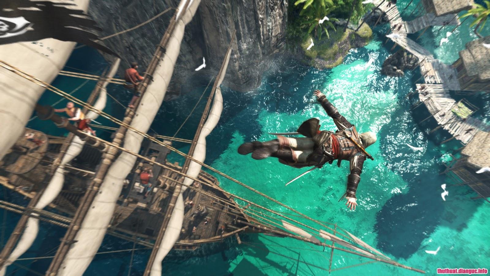 Game Assassin's Creed IV: Black Flag, Assassin's Creed IV: Black Flag, Assassin's Creed 4, Sát thủ vùng Caribbean