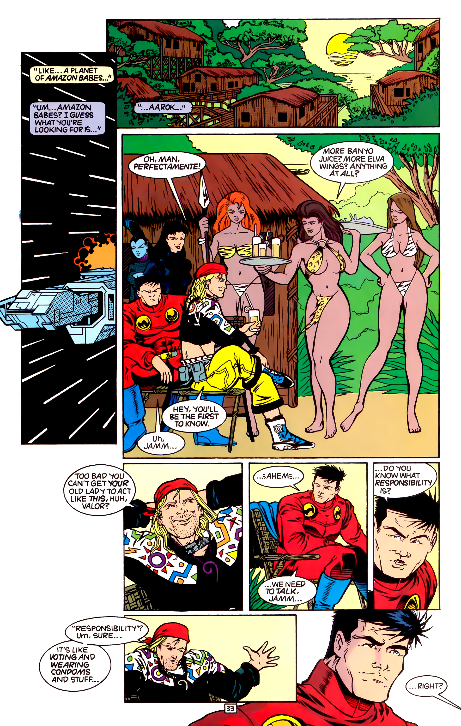 Legion of Super-Heroes (1989) _Annual_4 Page 33