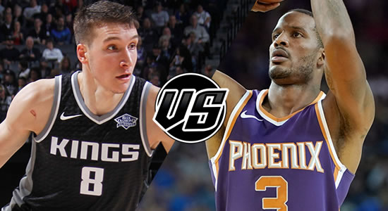 Live Streaming List: Sacramento Kings vs Phoenix Suns 2018-2019 NBA Season