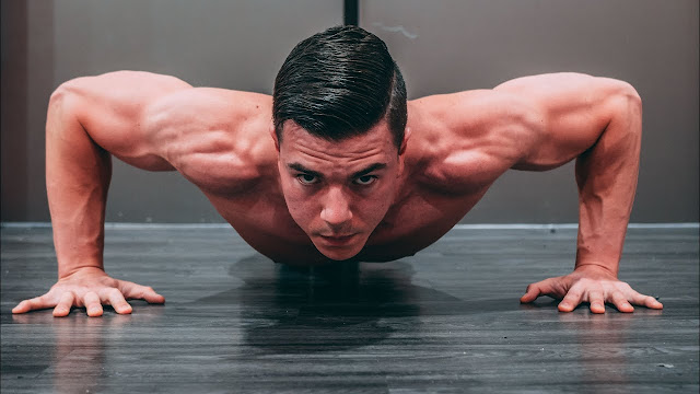 Push-ups for chest workout