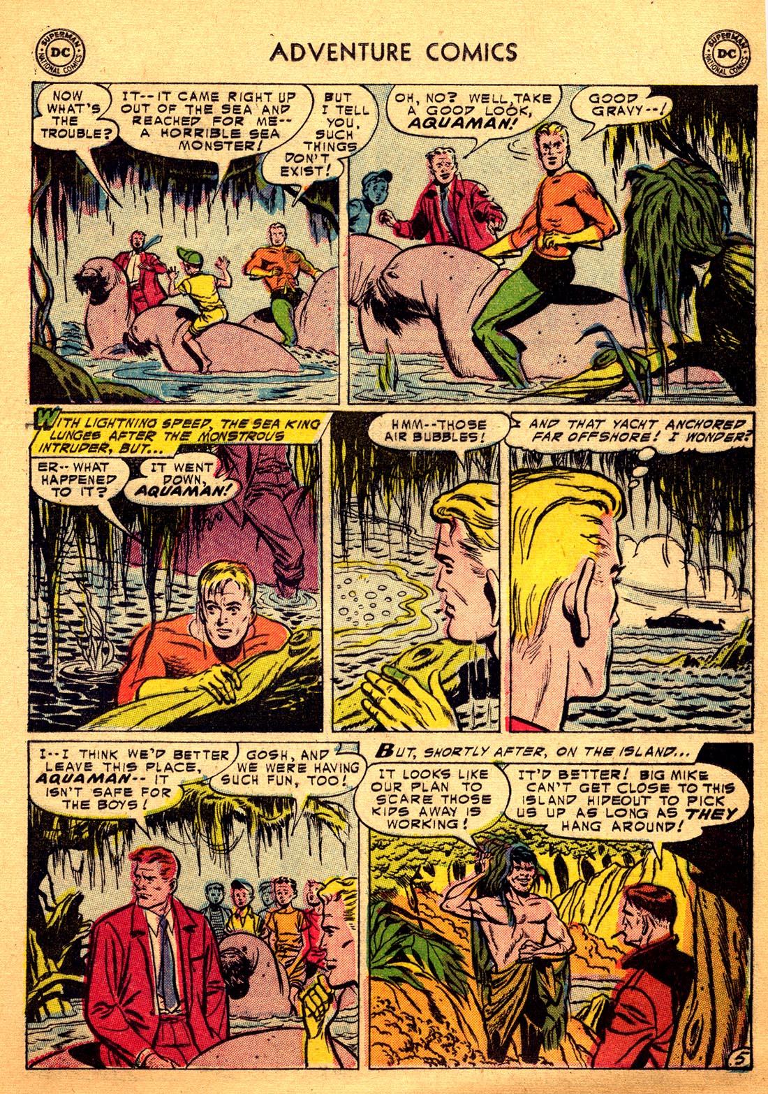 Read online Adventure Comics (1938) comic -  Issue #206 - 21