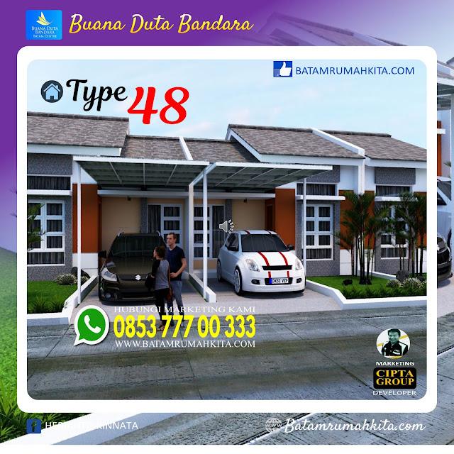 Rumah Type 48 Buana Duta Bandara-2