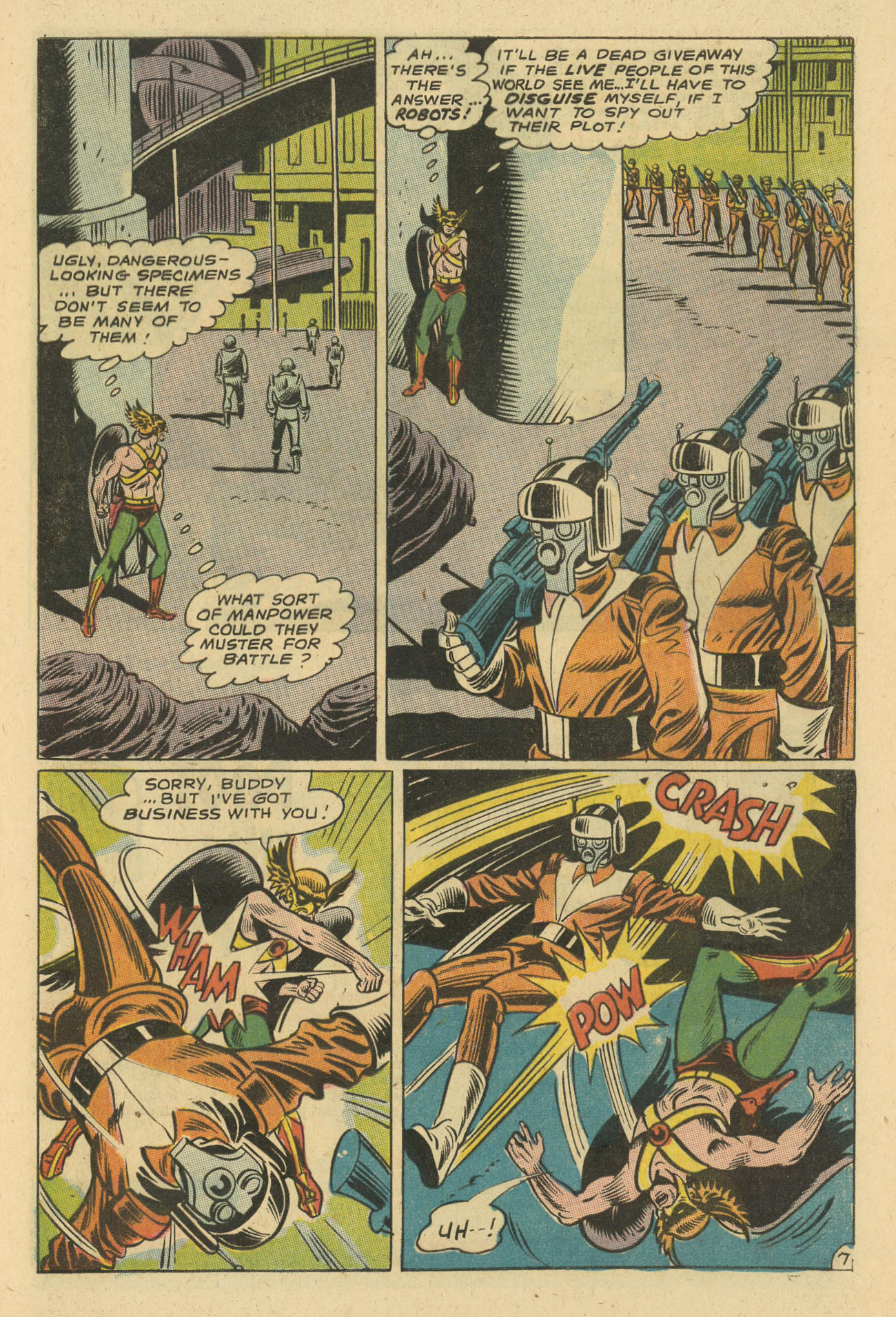 Hawkman (1964) issue 24 - Page 9