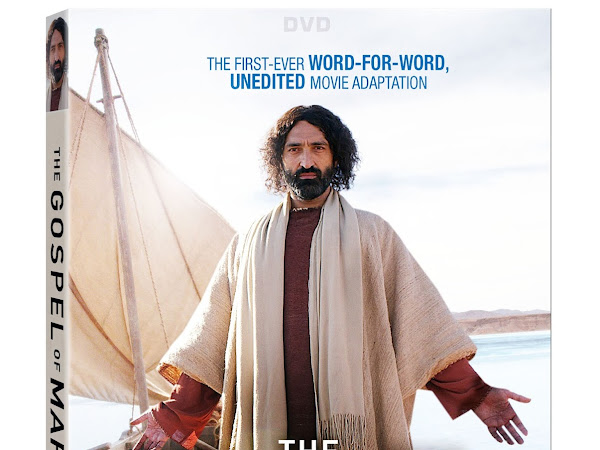 The Gospel of Mark on DVD TODAY {+ a Giveaway} #TheGospelOfMark #RWM #ad