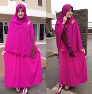 Model Baju Busana Muslim Syar'i
