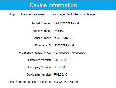 Motorola CPS | RSS Software Programming: Updating Motorola