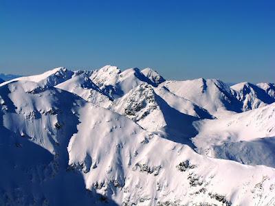 widoki ze szczytu Starorobociańskiego Wierchu
