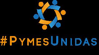 Logotipo de #PymesUnidas de España.