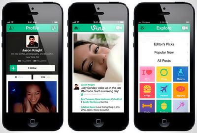 Twitter vine app for android platform