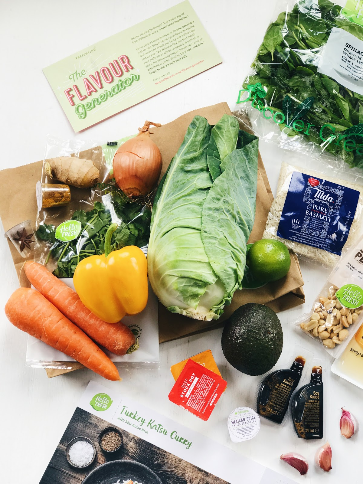 hellofresh subscription food box
