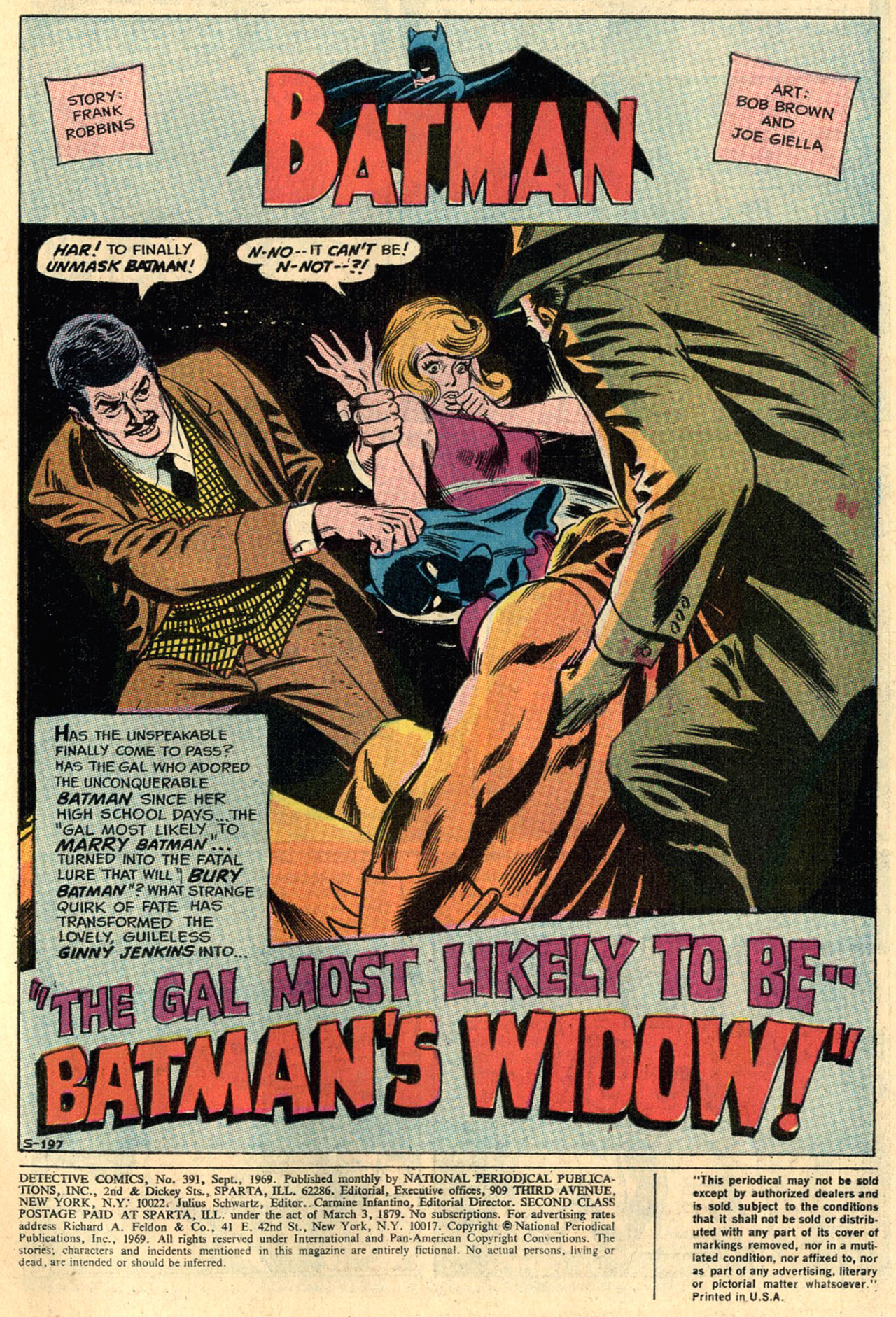 Detective Comics (1937) 391 Page 2