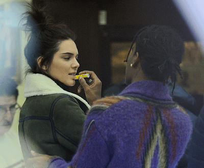 Kendall Jenner's Rumoured Boyfriend A$AP Rocky Spotted Lubricating Her Lips