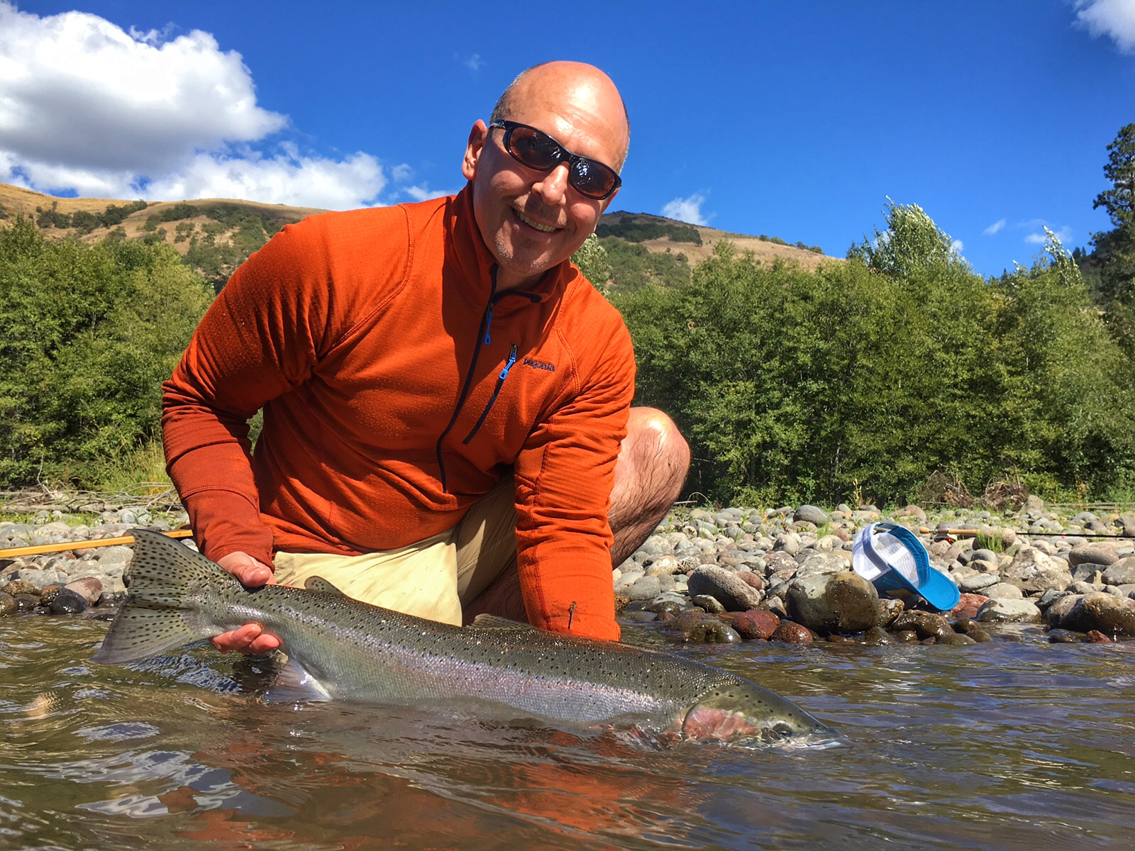 The evening hatch reports klickitat river report the for Klickitat river fishing report