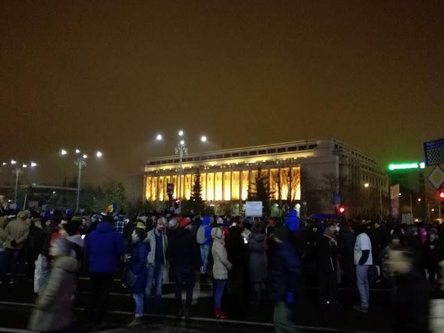 protest amnistie gratiere Bucuresti