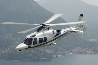 Agusta Westland AW109 LUH helicopter