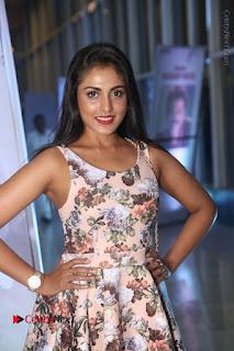 Actress Madhu Shalini Stills in Floral Short Dress at RGV Shiva to Vangaveeti Event  0137.JPG