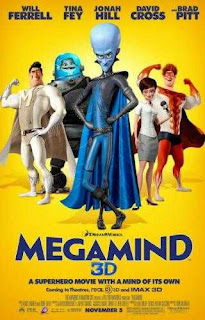 Megamind (2010) Hindi Dual Audio Movie 125Mb hevc BRRip