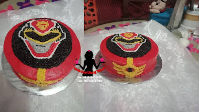 Kue Tart Power Ranger pesanan Tulangan Sidoarjo