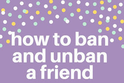 How to ban and unban a friend on Facebook