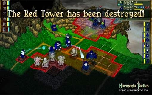 لعبة اكشن جديدة Harmonia Tactics