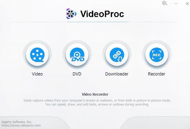 تحميل برنامج معالجة وتحرير و تغيير حجم الفيديو VideoProc
