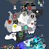 Mapa de todas as casas de Westeros