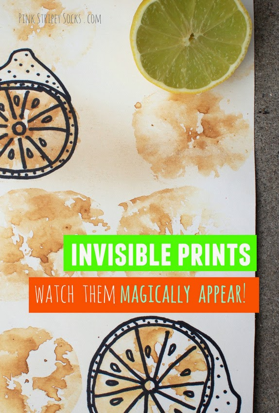 magically appearing fruit and vegetable prints