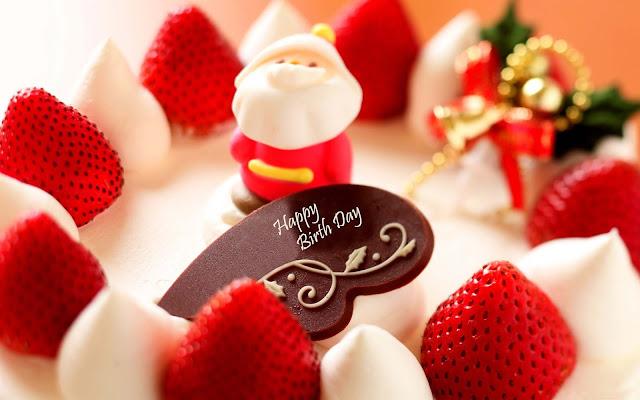 happy-birth-day-Strawberry-Dessert-image
