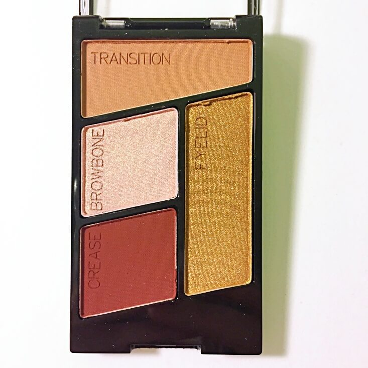 wet n wild color icon Eyeshadow Quad Fit For a Queen